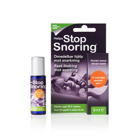 Munspray mot snarkning, Helps Stop Snoring