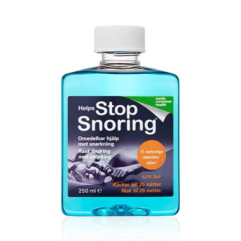 Munskölj mot snarkning, Helps Stop Snoring
