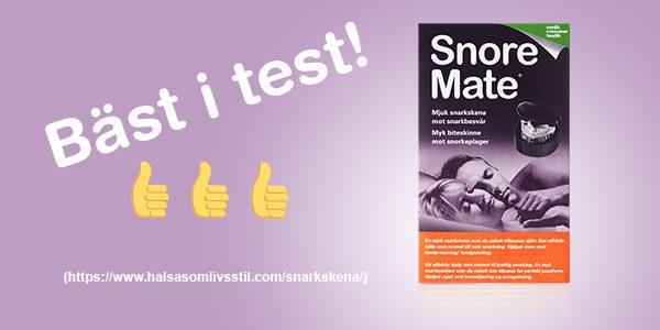 Snarkskenan SnoreMate är bäst i test!